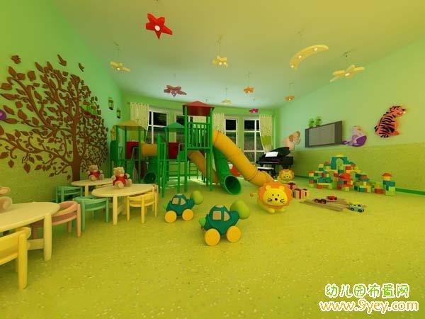 幼儿园游戏活动室室内设计图片