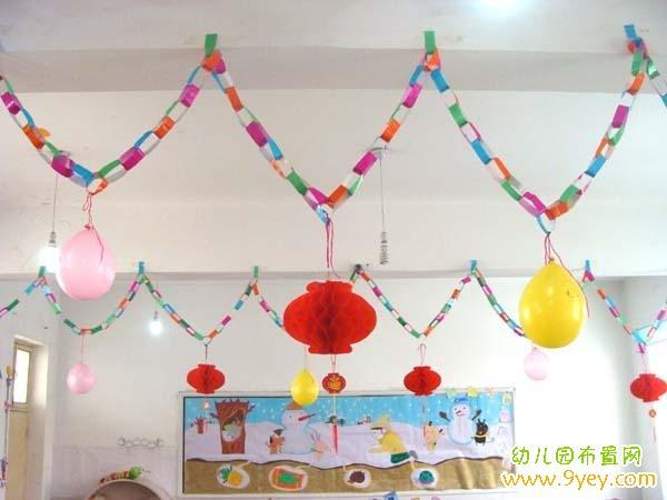幼儿园小班六一节墙面装饰_教室布置网