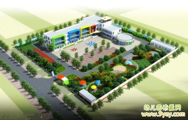 幼儿园整体建筑设计方案图