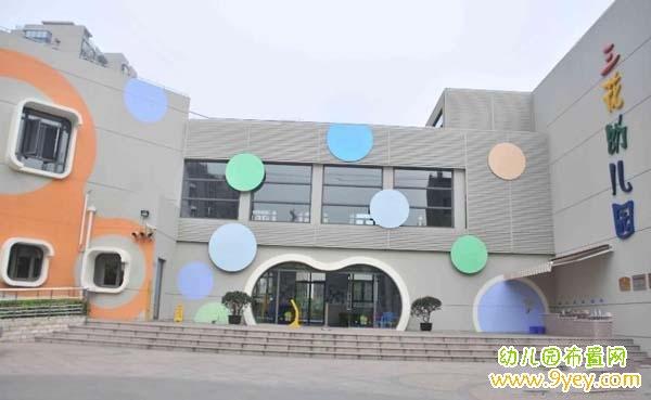 幼儿园建筑正面设计图片