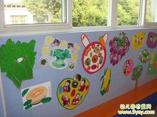 幼儿园水果蔬菜手工制作