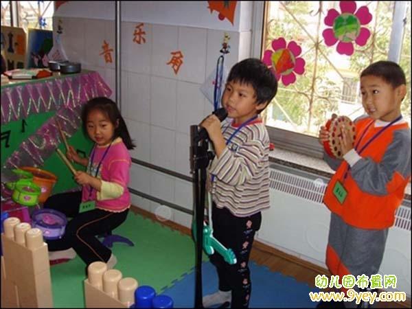 幼儿园音乐区角布置图片