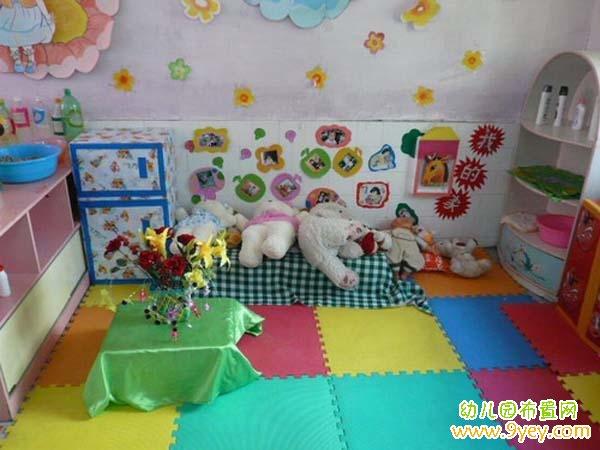幼儿园可爱的小动物娃娃家图片_皮皮网