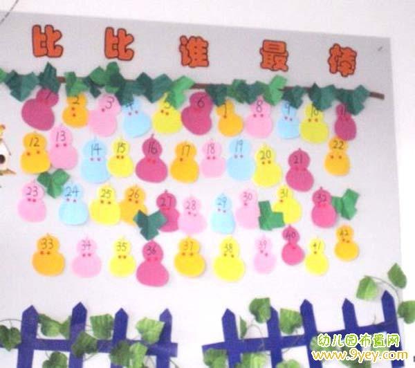 园教室幼儿评比栏图片展示_幼儿园教室幼儿评比栏 ...