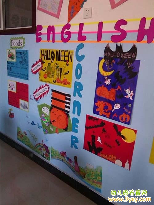 幼儿园英语区角设计图片