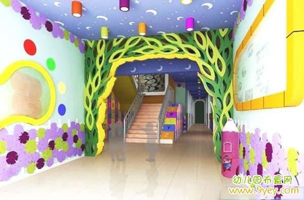 分隔线----------------------------         幼儿园过道墙壁