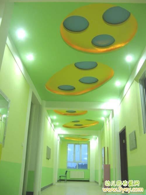 幼儿园过道天花板设计图片
