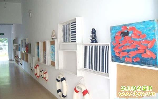 幼儿园过道墙面设计图片