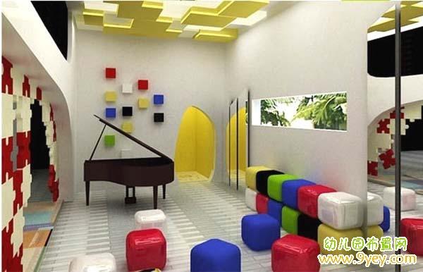 幼儿园音乐教室设计图片
