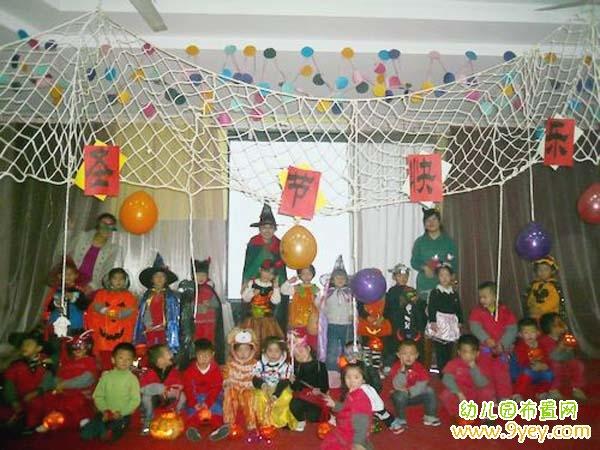 幼儿园万圣节环境创设图片