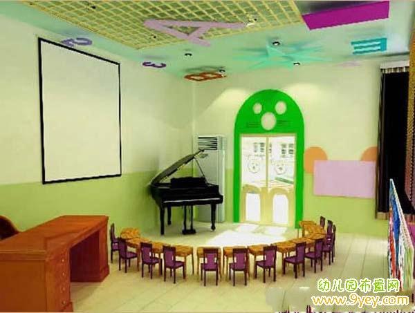 幼儿园音乐教室室内设计方案_幼儿园布置网