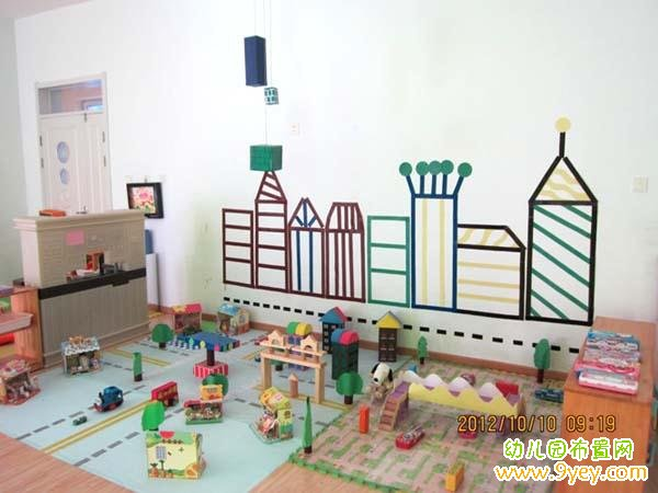 幼儿园建构区角环境创设图片