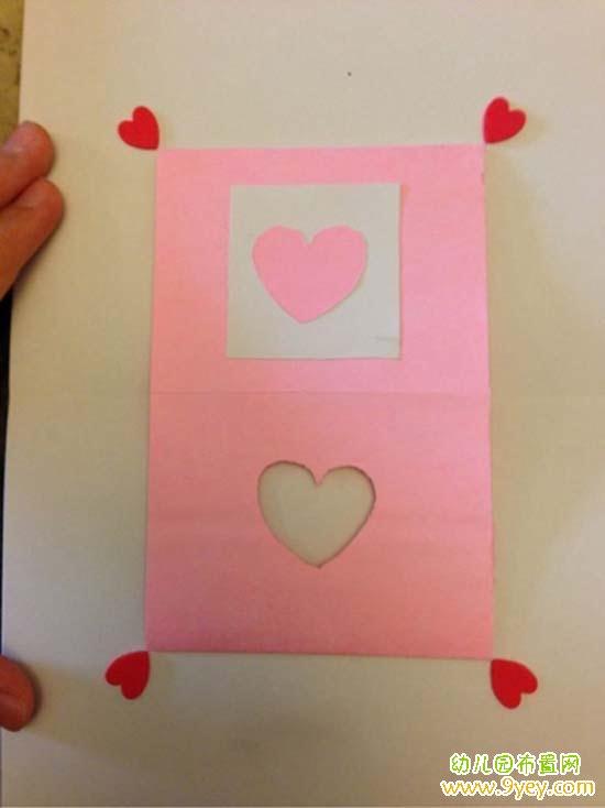 幼儿园母亲节贺卡手工制作图片教程图解