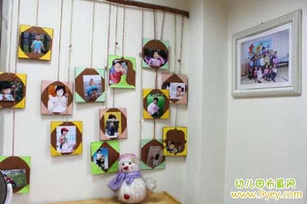 幼儿园边框布置图片_幼儿园教室区角照片墙手工布置图片_幼儿园布置网
