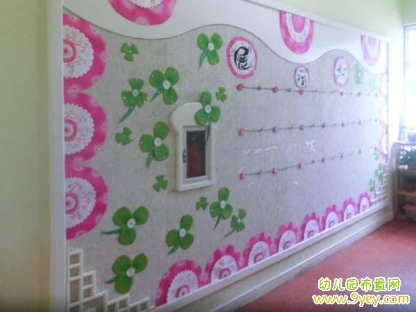 主页 幼儿园作品展示墙布置                     好看漂亮的幼儿园