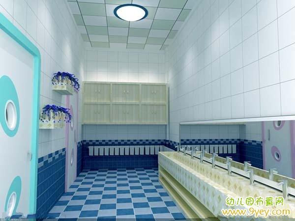 幼儿园卫生间吊顶装修设计效果图