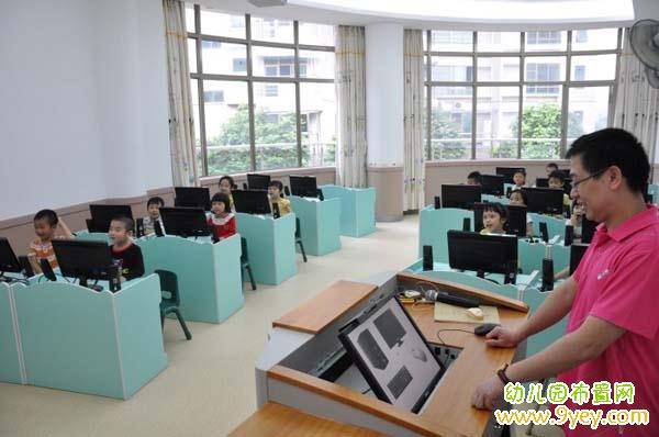 幼儿园电脑教室环境创设图片